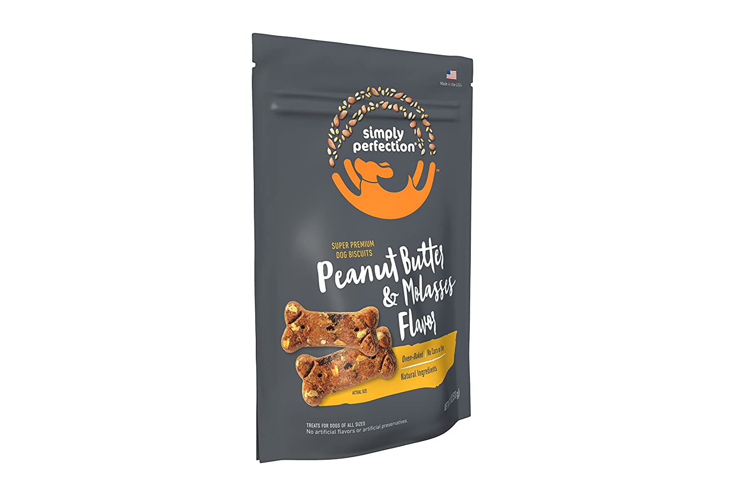 Simply Perfection Super Premium Peanut Butter Baked Dog Treats