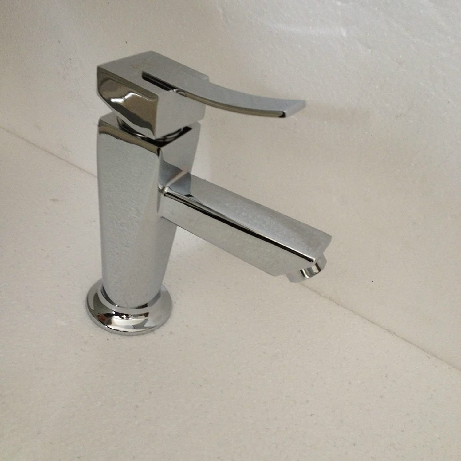 Kitchen Sink Faucet Modern Kitchen Sink Basin Mixer Tap Hot and Cold Water Tall Mixer Tap