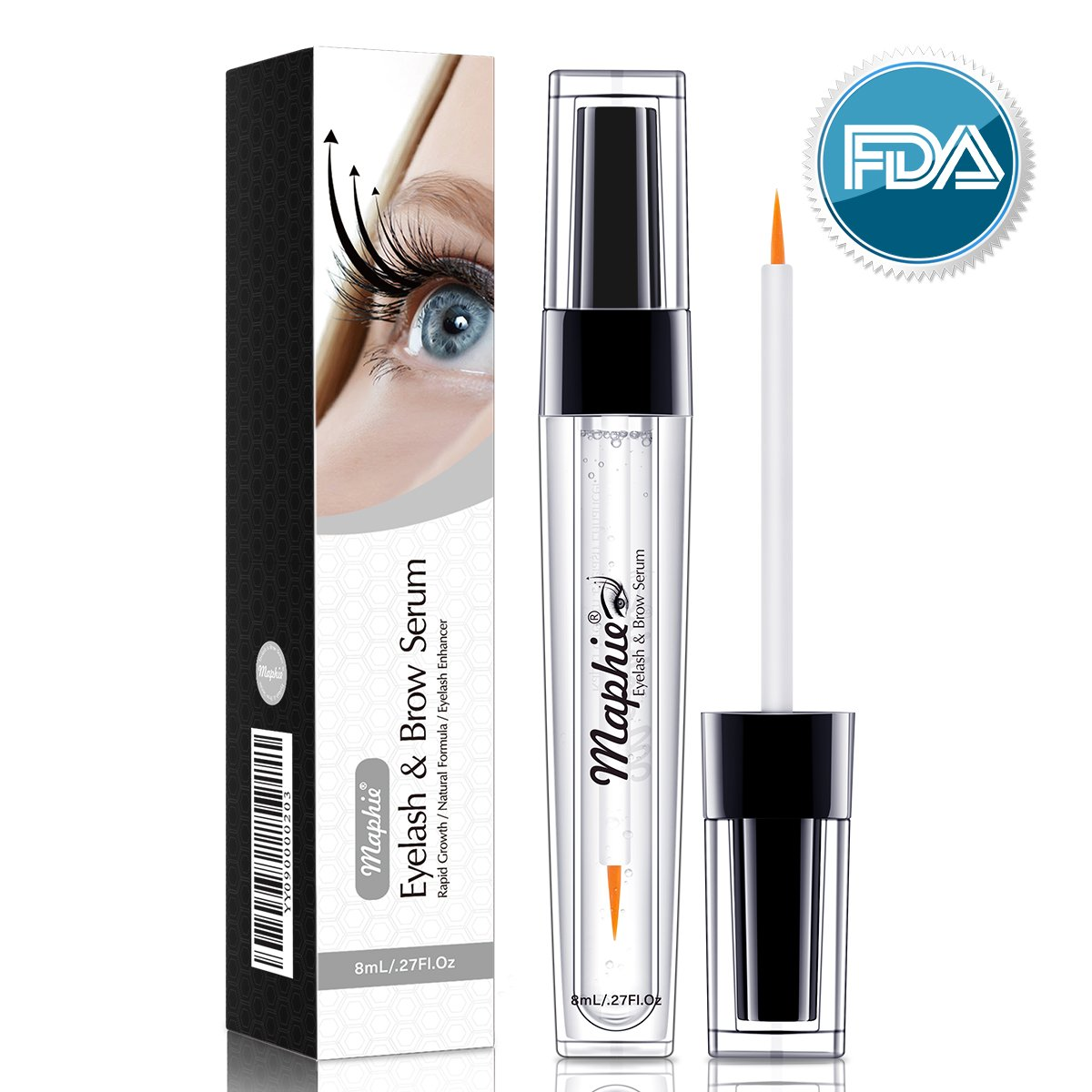 Natural Eyelash Brow Growth Serum8ml Enhancing Lash Boost