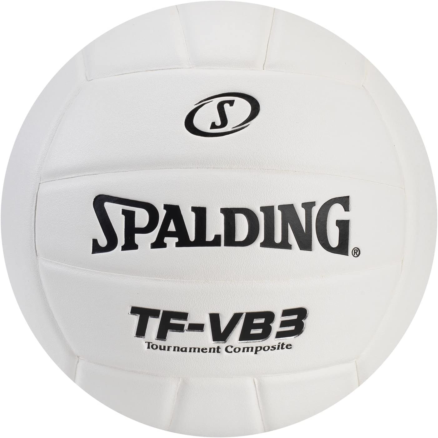 Amazon Com Spalding 72 1248 Top Flite Volleyball Leather White Industrial Scientific