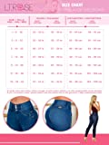 Laty Rose 2016 Jeans Colombianos Levanta Cola Blue