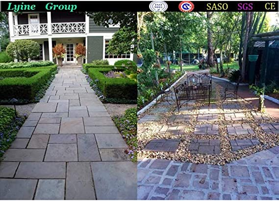 XTXWEN Molde para moldes de concreto Molde Fundido 50x50x4 cm - para concreto, adoquines de Piedra Natural, adoquines, adoquines, losas de Patio, escalones y adoquines para Jardines,M: Amazon.es: Hogar