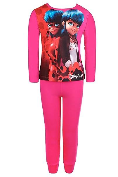 Miraculous - Pijama - para niña rosa fucsia