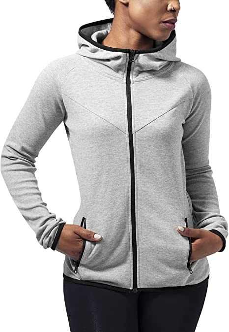 Urban Classics Zip Hoodies | Damen Damen Zip Hoodie Ladies