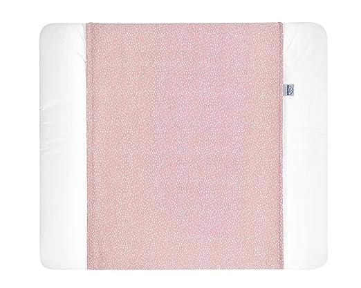 Julius Zöllner Schutzbezug für Wickelauflagen 75 x 85 Tiny Squares Blush
