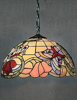 Tiffany Colgante de Luz Vendimia Diseño Sala Comedor Veranda ...