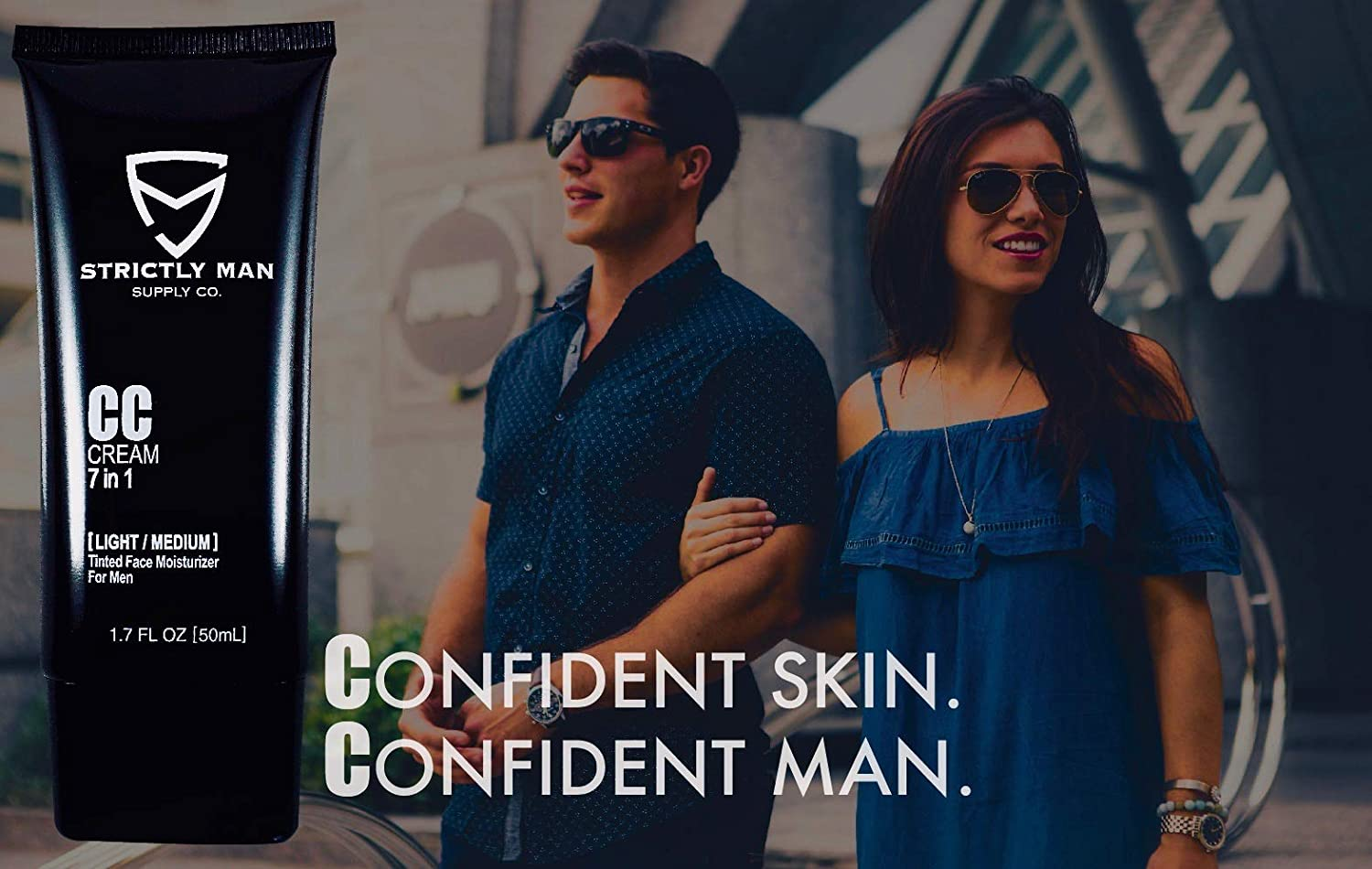 76f7c1da60e Amazon.com  CC Cream for Men by Strictly Man Supply Co.