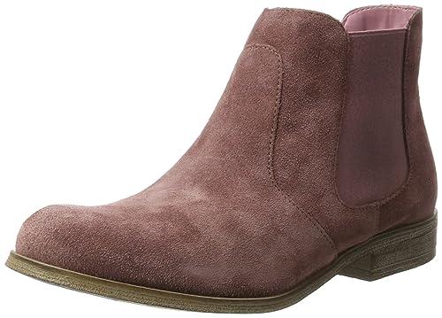 Oliver 25340 - Botines Chelsea de Cuero Mujer: Amazon.es: Zapatos y complementos