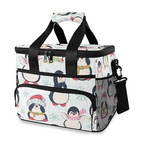 Vinlin Picknick - Nevera para Picnic, diseño de pingüino: Amazon ...