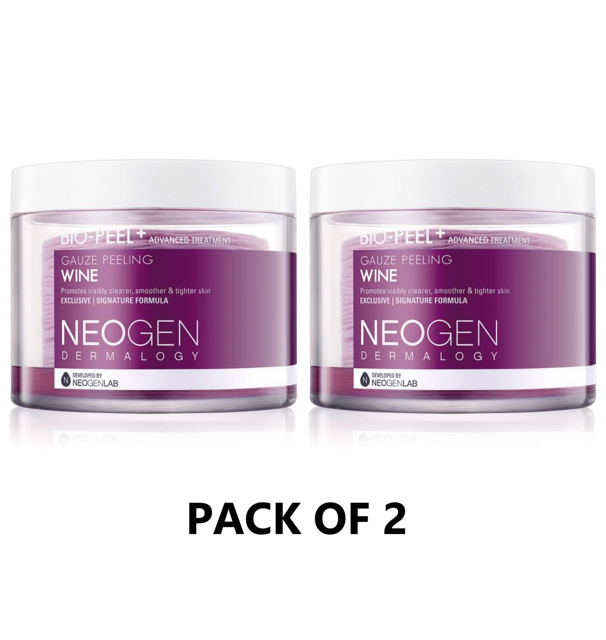 Neogen Dermalogy Bio-Peel Gauze Peeling Wine (Pack of 2) by Neogen Skin