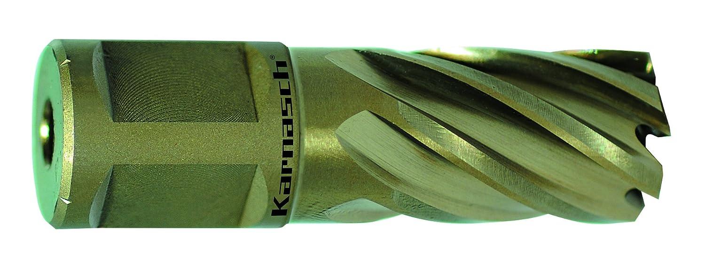 Karnasch 201260U038 38mm Gold-Line 30mm long Annular Cutter/Core Drill (Weldon Shank)