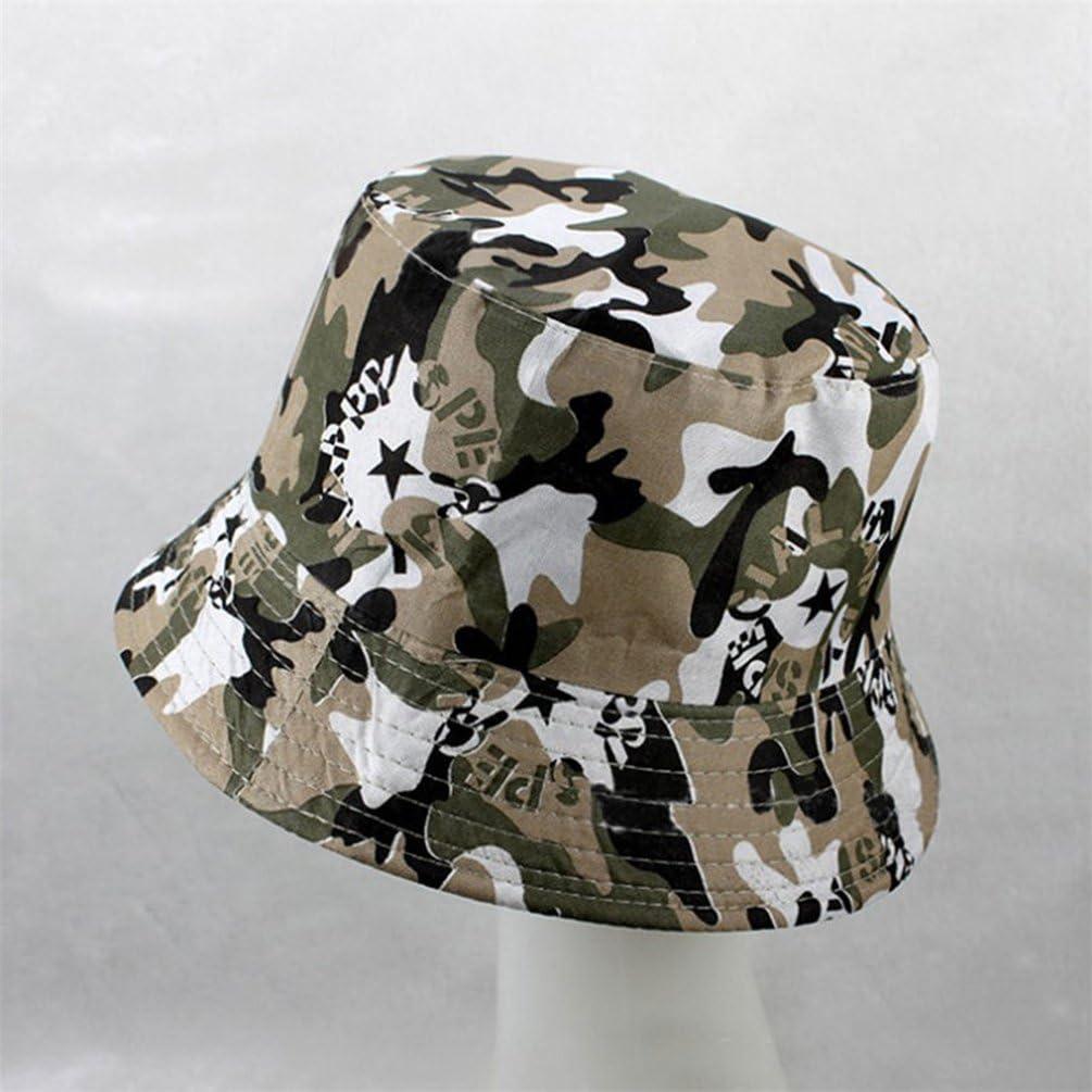 Summer Outdoor Sun Hat Cap UV Protection bismarckbeer Bucket Hat for Men Women