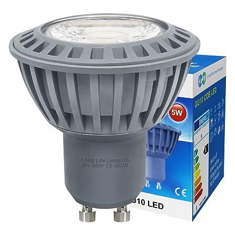 10 unidades de pinchos para mazorcas de LED GU10 5 W luz blanca fría color