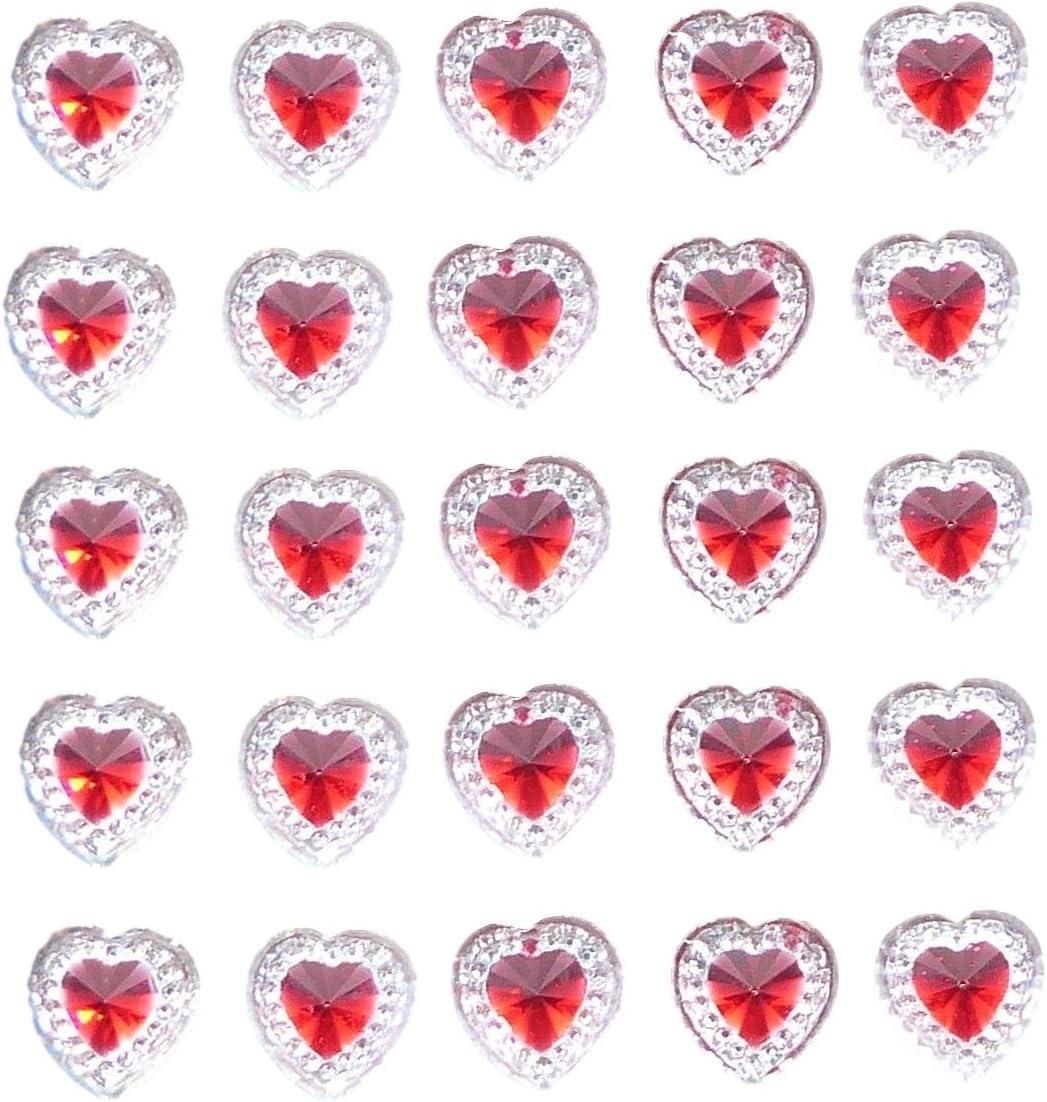 WEDDING Stickers Adhesive Stick on Diamante Gem DIY Invitation Card Making Craft