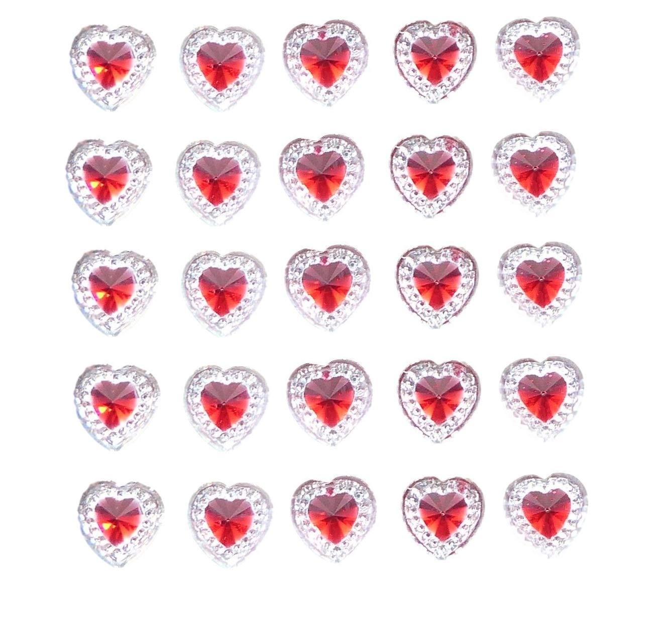 Hochzeit Einladungen Handwerk 80/x selbstklebende rund klar Diamant Strass Acryl Kristalle Stick auf Gems f/ür Karte machen