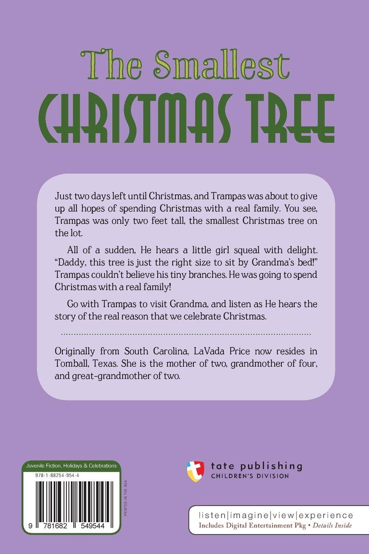 the smallest christmas tree lavada price 9781682549544 amazoncom books