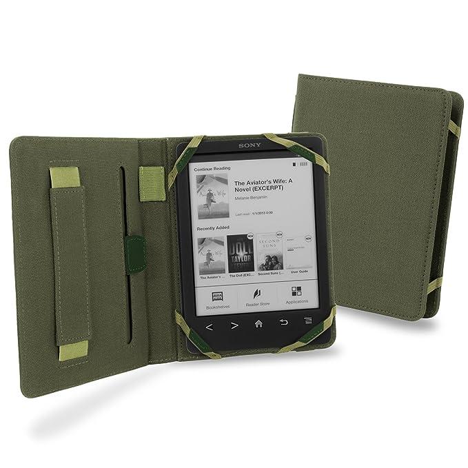 Funda Cover- Up Vision Cover Case de lona para Sony Reader PRS-T3 ...