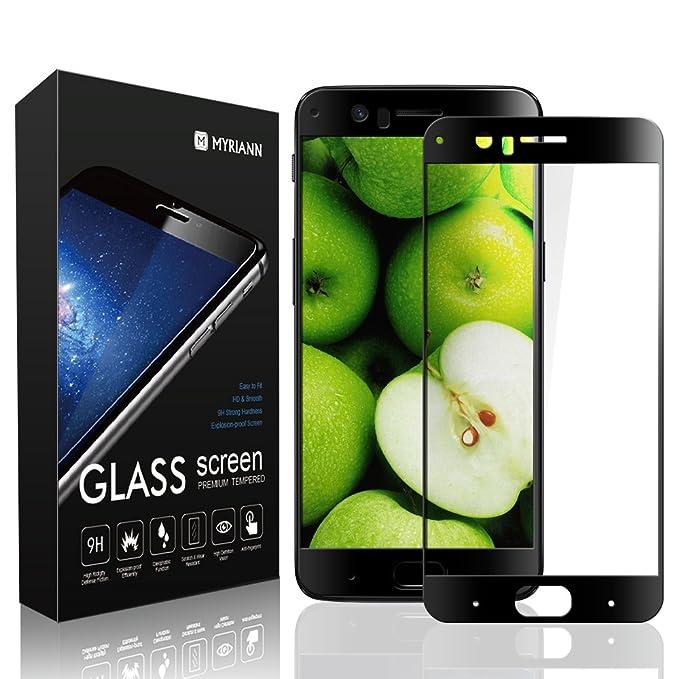1 opinioni per OnePlus 5pellicola protettiva trasparente, durezza di superficie Myriann