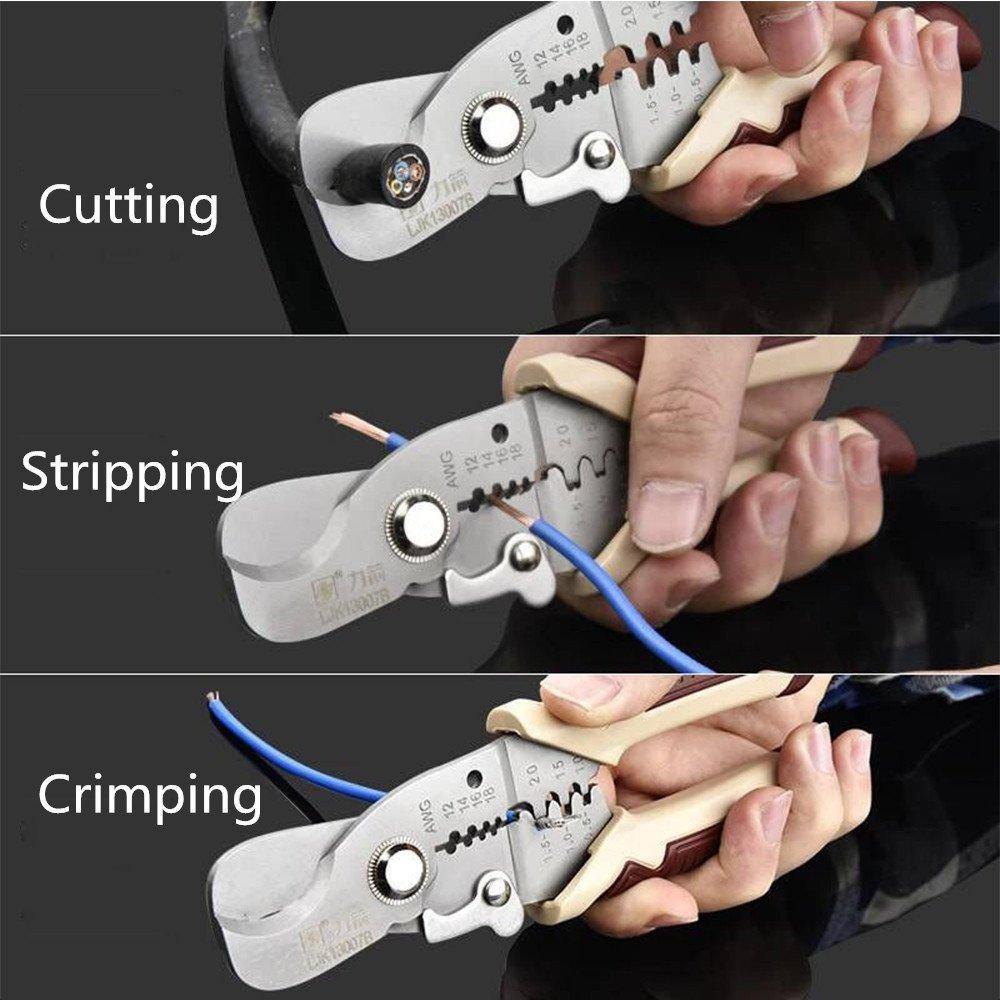 Abisolierzange Zange, Elektriker Crimpen Werkzeug, ELECTRICAL Wire ...