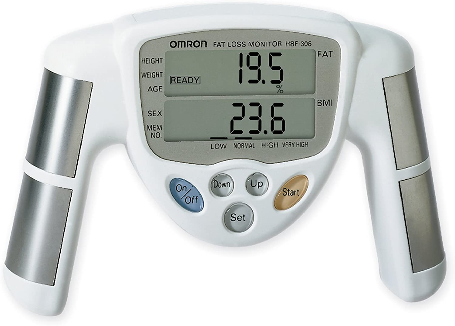 Omron HBF-306CAN Fat Loss Monitor: Amazon.ca: Health & Personal Care