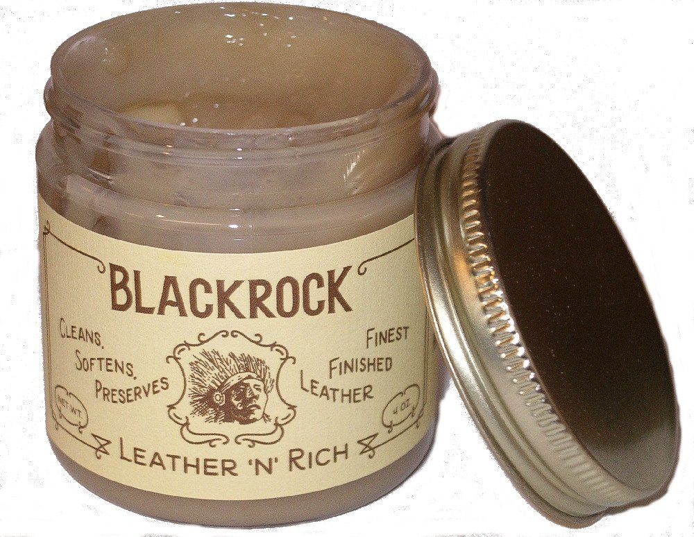 Blackrock Leather Cleaner with COND Blackrock New Package