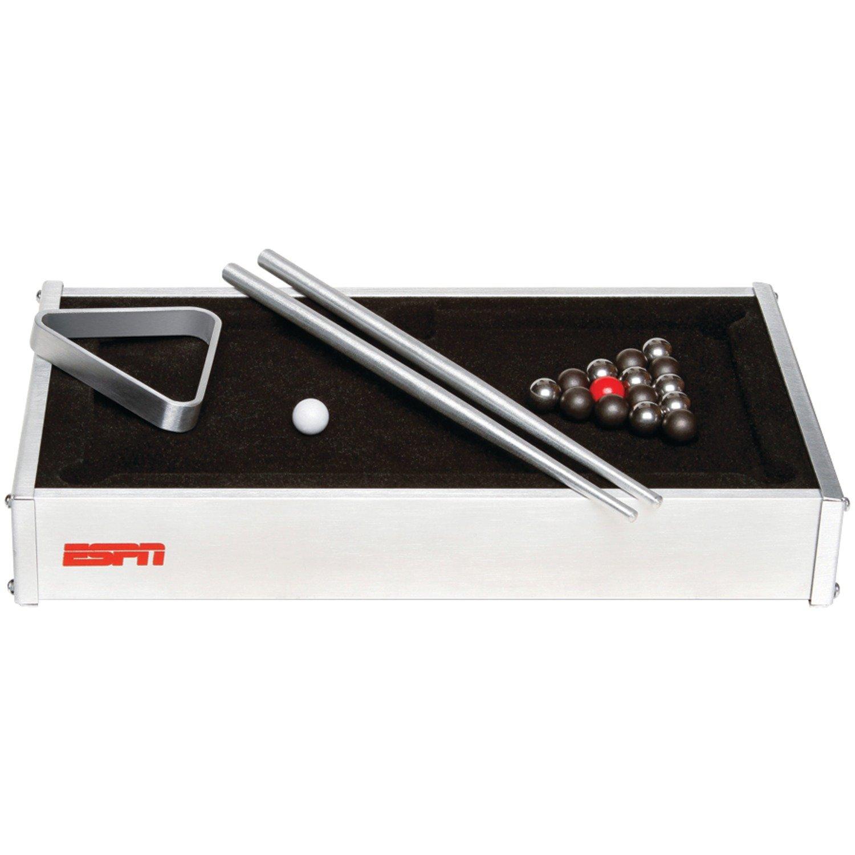 Amazon.com : ESPN Desktop Pool Table : Tabletop Billiards Games : Sports U0026  Outdoors