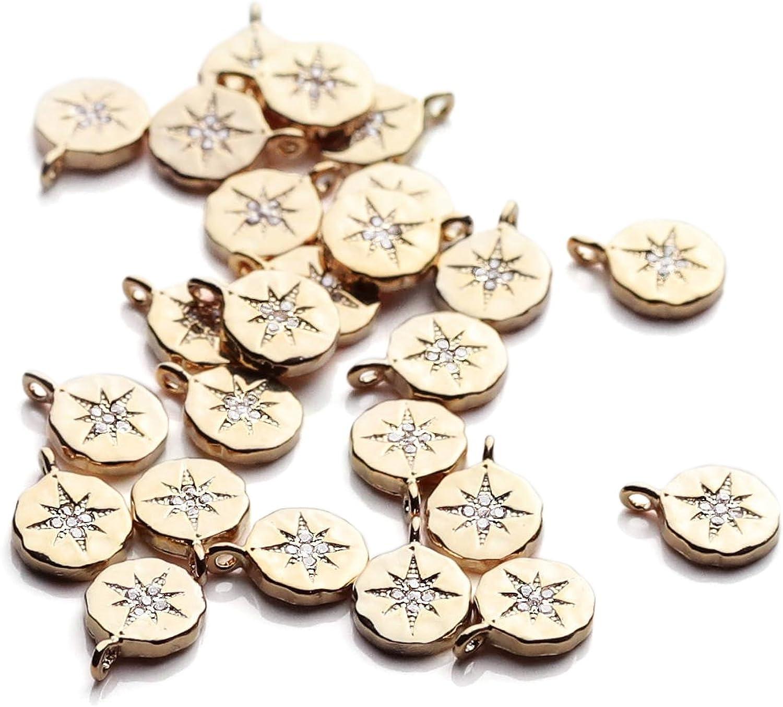 10 pcs 30 x 20 x 2 mm Wholesale Metal Black Compass Connectors Charms for Bracelet Anklet Making