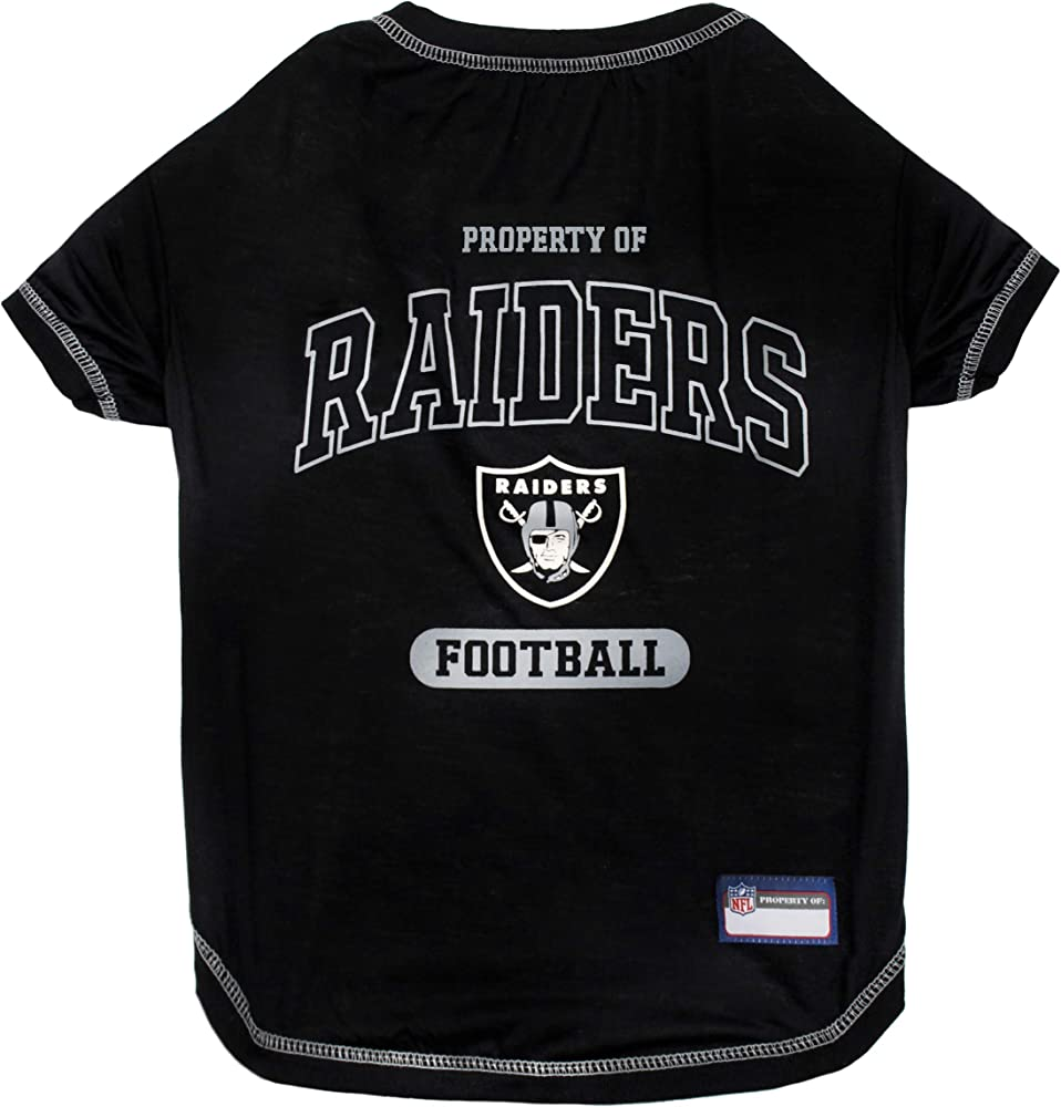 Durable SPORTS PET TEE DOG TEE SHIRT Football DOGS /& CATS SHIRT NFL PET OUTFIT UGLY TEE SHIRTS /& Team color Tee Shirts Cool 5 Sizes in 32 NFL TEAMS NFL T-SHIRT Busy Dog Shirt
