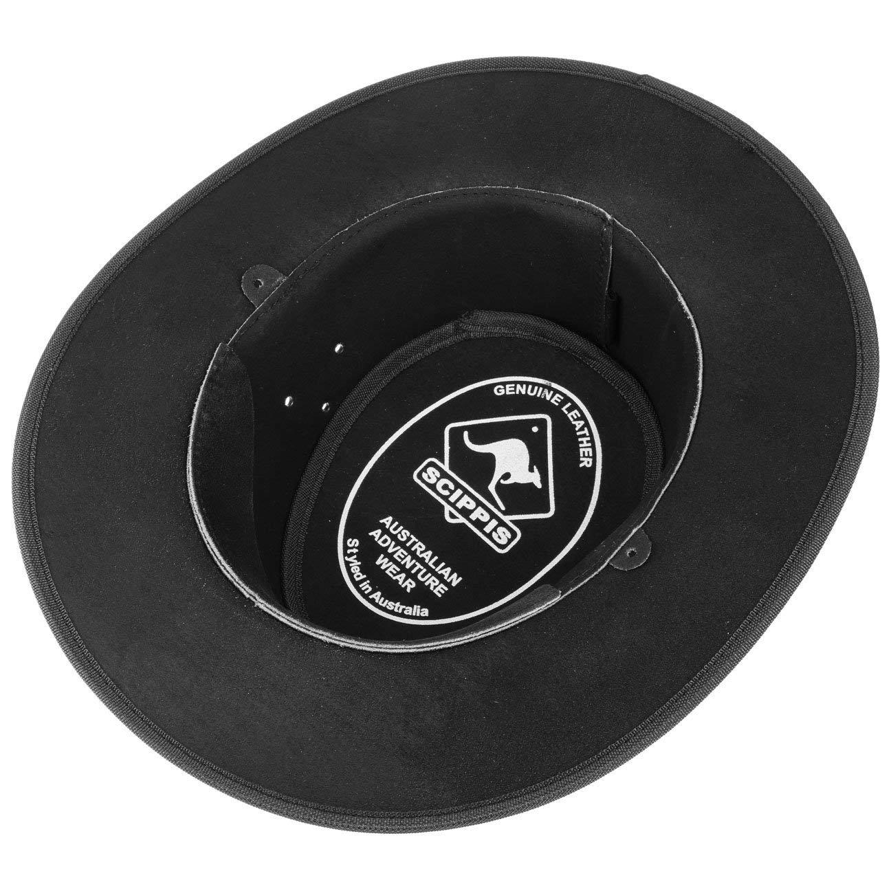 Tombstone Cappello in Pelle cappello da uomo cappello da cowboy cappello  australiano Scippis 8e3f5bee0c97