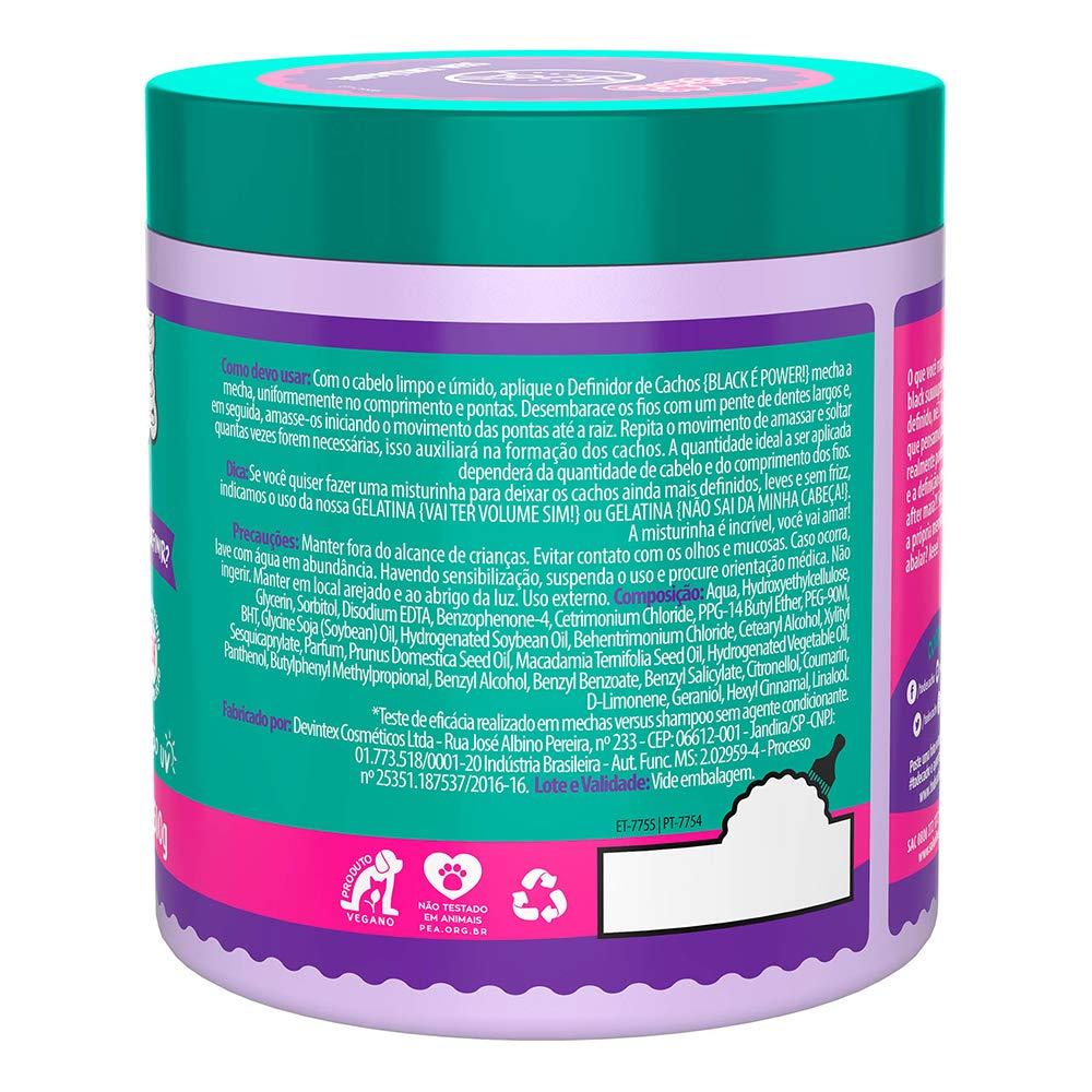 Amazon.com: Linha Tratamento (#ToDeCacho) Salon Line - Definidor De Cachos {Bora Definir} Black e Power 500 Gr - (Treatment (#IHaveCurls) Collection - Curl ...