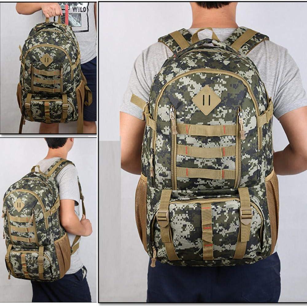 Journal de Yunling Sac /à Dos /étanche 50L Grande capacit/é Camouflage Sac en Nylon Aventure en Plein air Trekking Tactique Militaire Chasse Camping Sac /à Dos