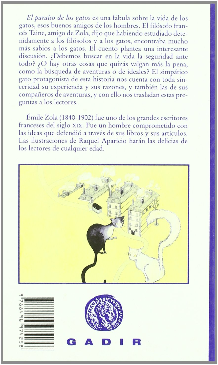 El paraiso de los gatos (El Bosque Viejo) (Spanish Edition): emile Zola: 9788496974258: Amazon.com: Books