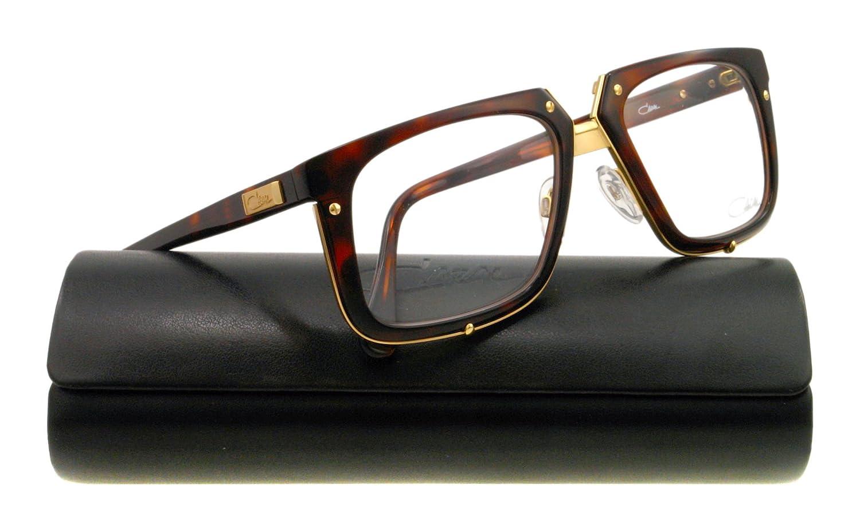 cbb29bf76101 Amazon.com  Cazal Eyeglasses CZ 643 HAVANA 7 CZ643  Cazal  Clothing