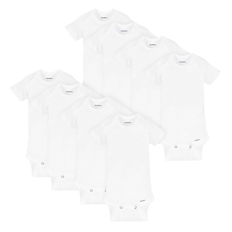Gerber Baby 8-Pack Onesies Bodysuits