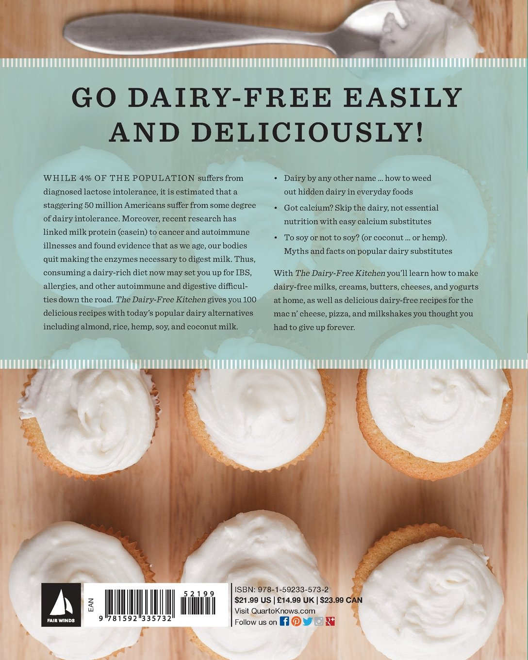 The Dairy-Free Kitchen: 100 Recipes for all the Creamy Foods You ...