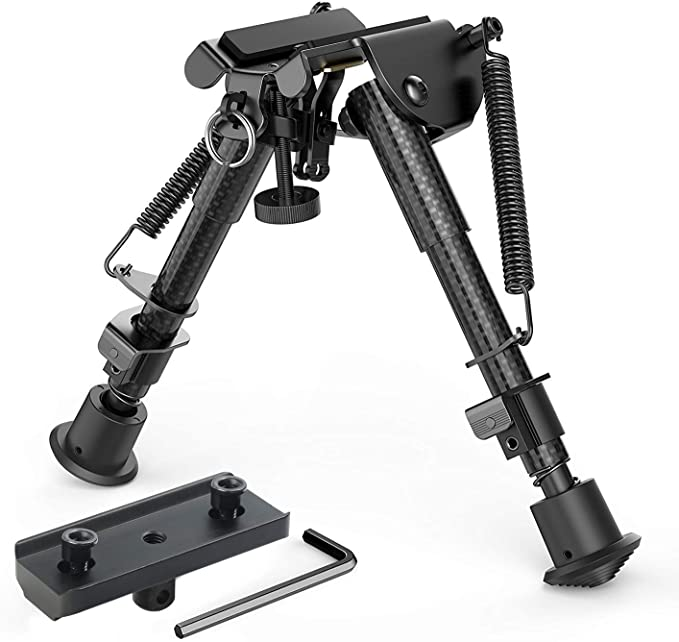 "Best bipod :  XAegis Carbon Fiber 6""-9"" Rifle Bipod"