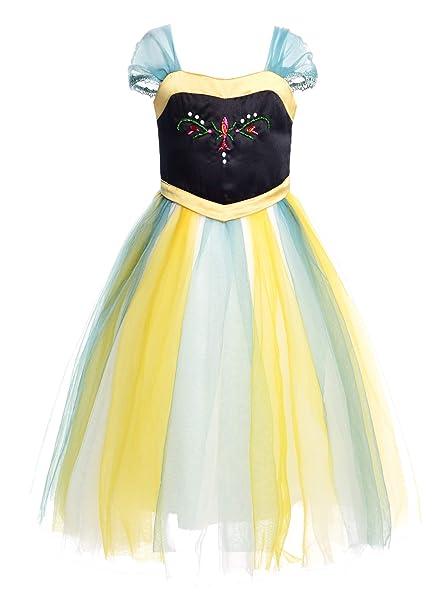 JerrisApparel Disfraz de Princesa para Fiesta de Disfraces de Cosplay