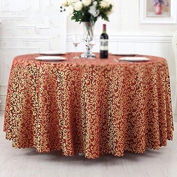 Wxfc Europäische Restaurant Lounge Band Tischdecken Runde