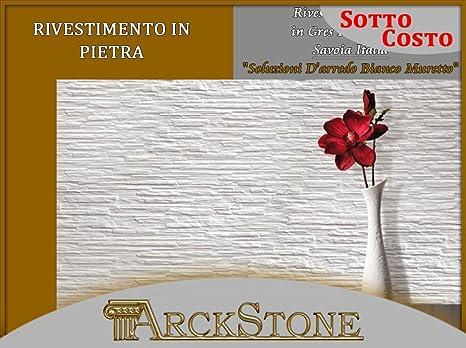 Rivestimento in gres porcellanato effetto pietra savoia italia