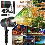 subtle selection Star Light Fairy Laser Projector Outdoor Garden Lawn Landscape LED Lamp EU Plug (Multicolour)