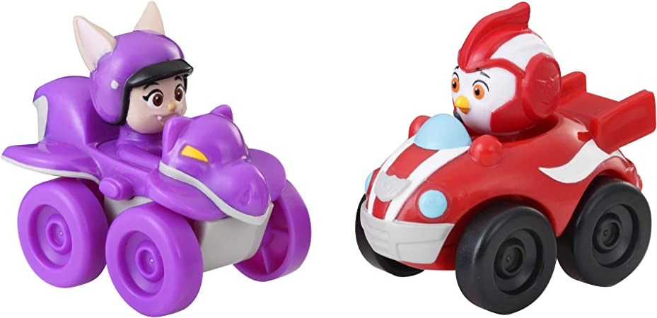 Hasbro E5351 Top Wing Rod and Betty Racers