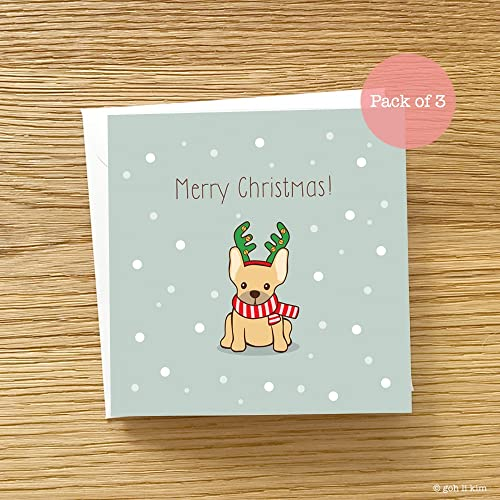 c483e08aabe Frenchie Christmas Card