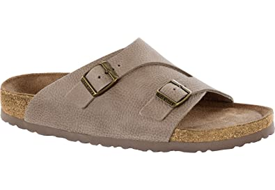 4394a10d3 Birkenstock Zurich NB SF 1008920 Steer Taupe Narrow  Amazon.co.uk ...