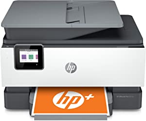 HP OfficeJet Pro 9015e All-in-One Wireless Color Printer-for home office, with bonus 6 months free Instant Ink with HP+, Compatible with Alexa (1G5L3A)