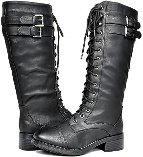 Amazon.com   Women\'s Stacked Chunky Heel Back Zip Stylish Fringe ...