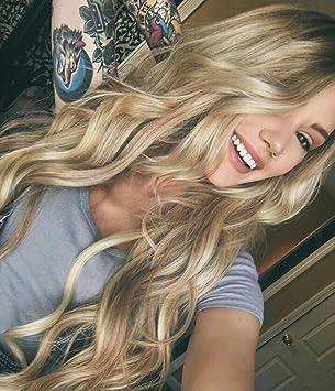 Zenith Dark Brown Rooted Light Blonde Lace