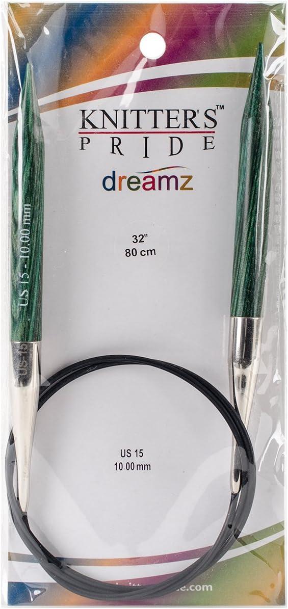 32 Knitters Pride 15//10mm Dreamz Fixed Circular Needles