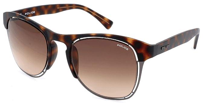 Police Sonnenbrille S1954 Gafas de sol, Marrón (Braun), 51.0 ...