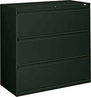 product image for HON 893LS 800 Series 42 by 19-1/4-Inch 3-Drawer Lateral File, Charcoal