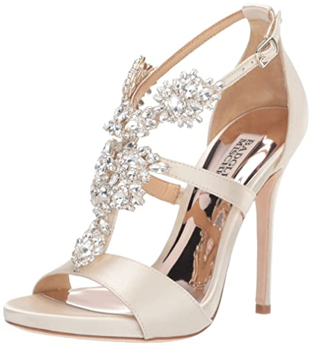 0bcfd5a953812 Badgley Mischka Women's Leah Heeled Sandal